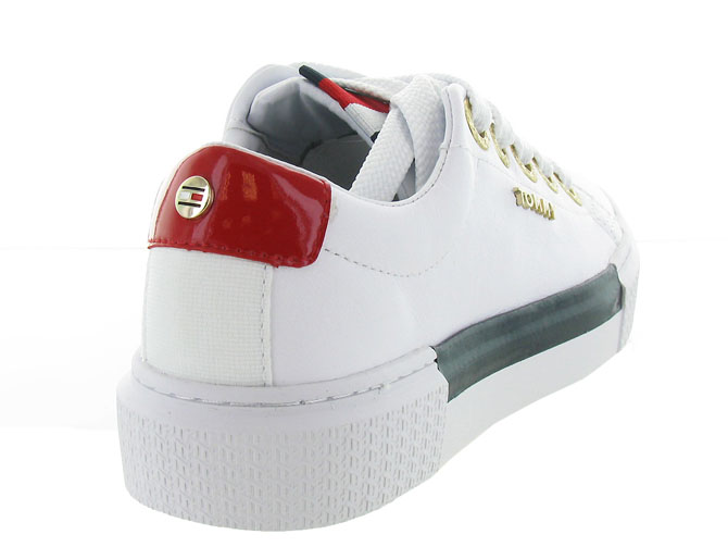 Tommy hilfiger baskets et sneakers leather elevated tommy sneaker blanc7125402_5