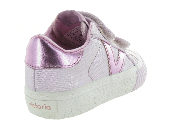 Victoria baskets et sneakers 65159 rose7136802_5