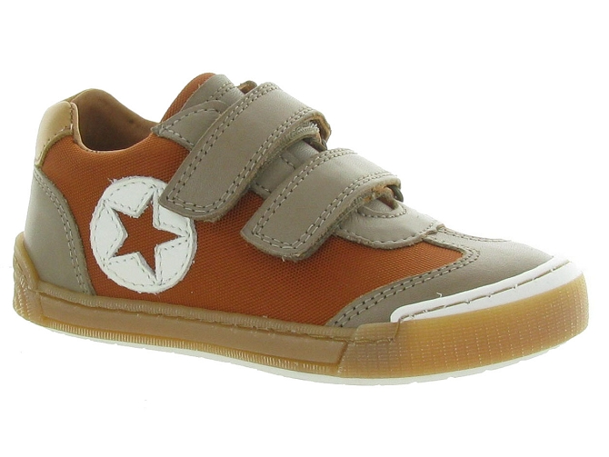 Bisgaard chaussures a scratch joes orange