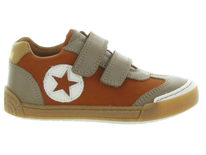 Bisgaard chaussures a scratch joes orange7142103_2