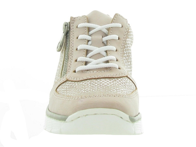 Rieker baskets et sneakers 53714 rose7177701_3