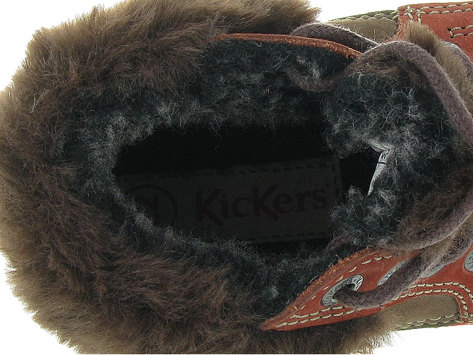Kickers apres ski bottes fourrees babyfrost boy marron fonce9802802_6