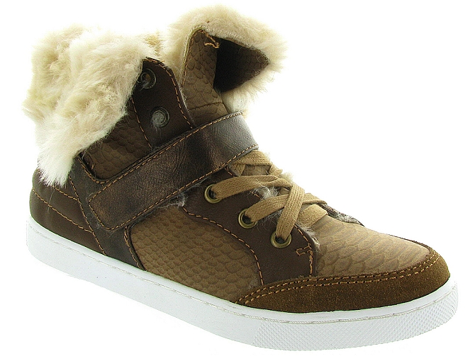 Bullboxer chaussures a lacets aeff5s beige