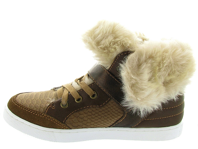 Bullboxer chaussures a lacets aeff5s beige9822001_4