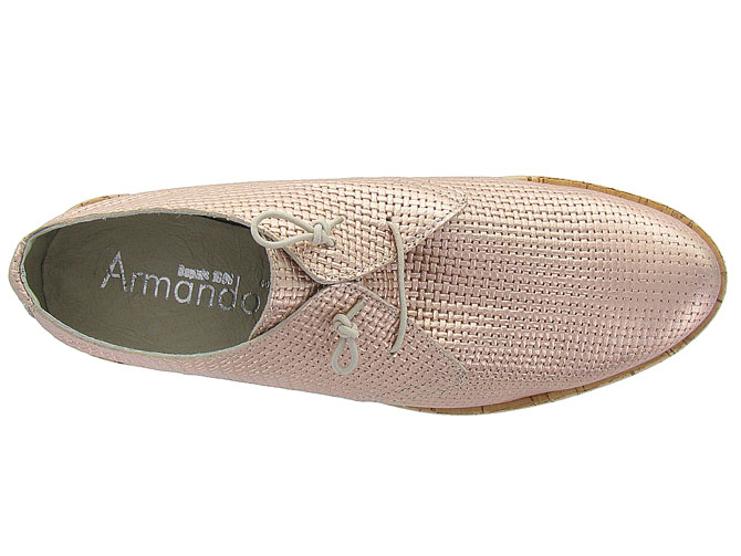 Armando chaussures a lacets 4235 rose9939401_6