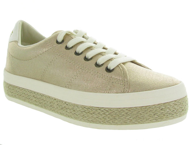 No name baskets et sneakers malibu sneaker beige