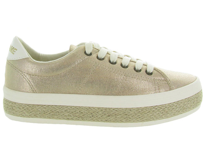 No name baskets et sneakers malibu sneaker beige9960101_2