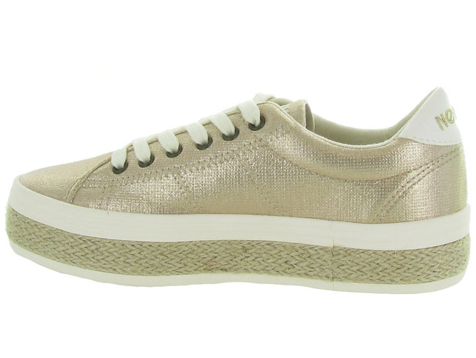 No name baskets et sneakers malibu sneaker beige9960101_4