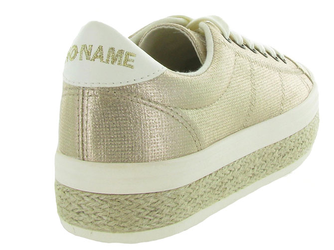 No name baskets et sneakers malibu sneaker beige9960101_5