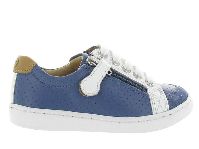 Shoo pom chaussures a lacets play lo bi zip boy marine9962004_2