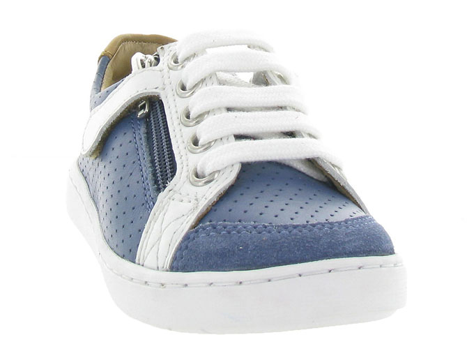 Shoo pom chaussures a lacets play lo bi zip boy marine9962004_3
