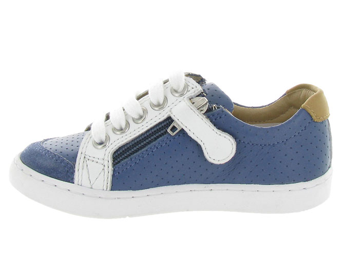 Shoo pom chaussures a lacets play lo bi zip boy marine9962004_4