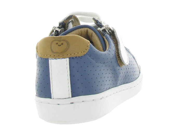 Shoo pom chaussures a lacets play lo bi zip boy marine9962004_5
