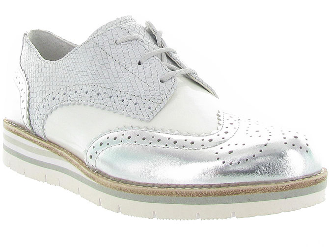 Gabor chaussures a lacets 62 558 blanc