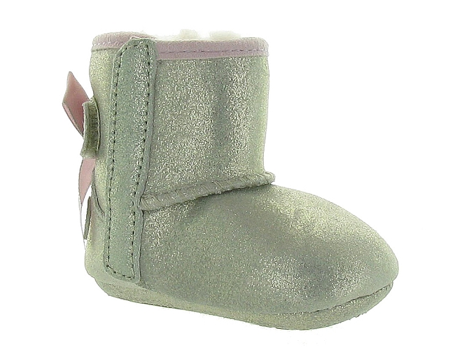 Ugg australia apres ski bottes fourrees jesse bow ii metallic or
