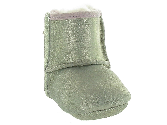 Ugg australia apres ski bottes fourrees jesse bow ii metallic or9983201_3
