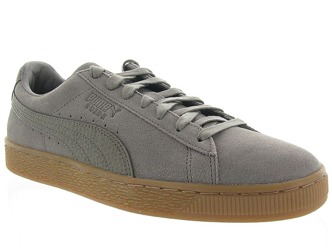 Puma baskets et sneakers suede organic taupe