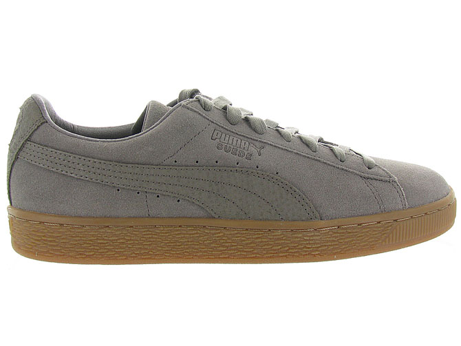 Puma baskets et sneakers suede organic taupe9984901_2