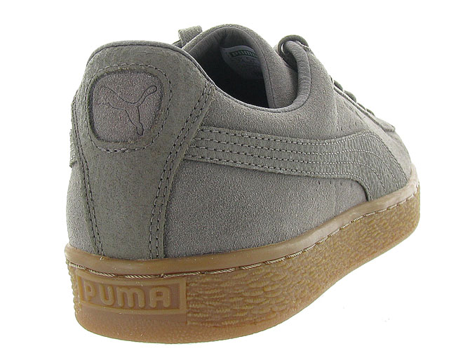 Puma baskets et sneakers suede organic taupe9984901_5