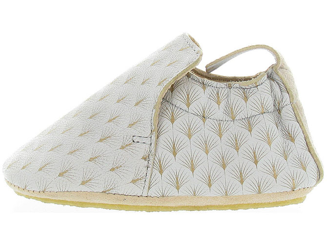 Easy peasy chaussons et pantoufles blublu feuille beige9995801_4