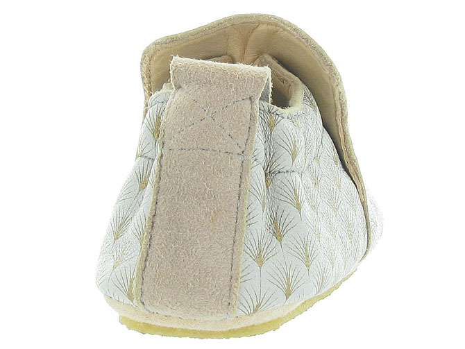 Easy peasy chaussons et pantoufles blublu feuille beige9995801_5