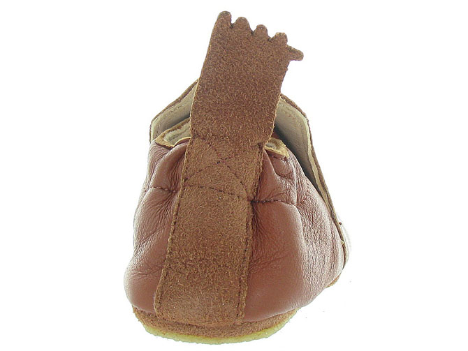 Easy peasy chaussons et pantoufles blublu fox marron9996301_5