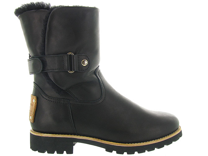 Panama jack apres ski bottes fourrees felia igloo travelling noir9999001_2