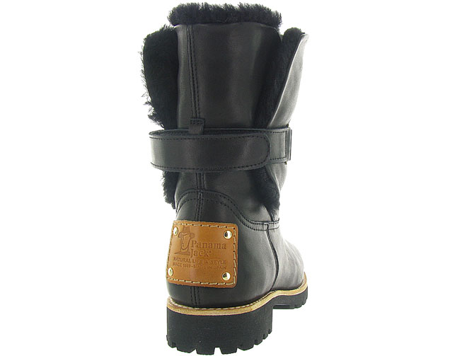 Panama jack apres ski bottes fourrees felia igloo travelling noir9999001_5